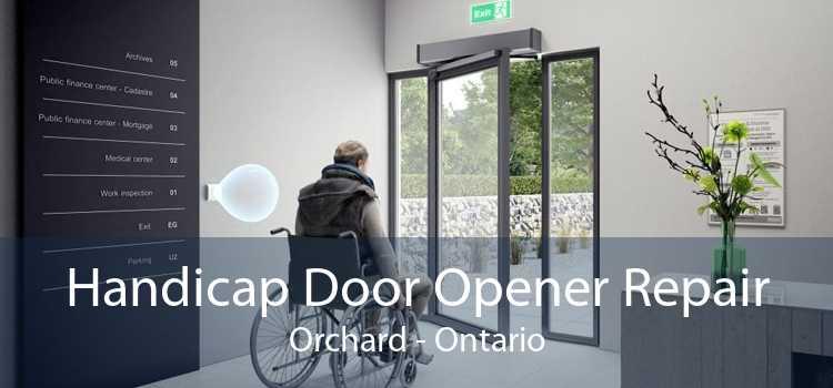 Handicap Door Opener Repair Orchard - Ontario