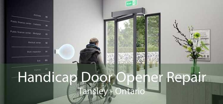 Handicap Door Opener Repair Tansley - Ontario