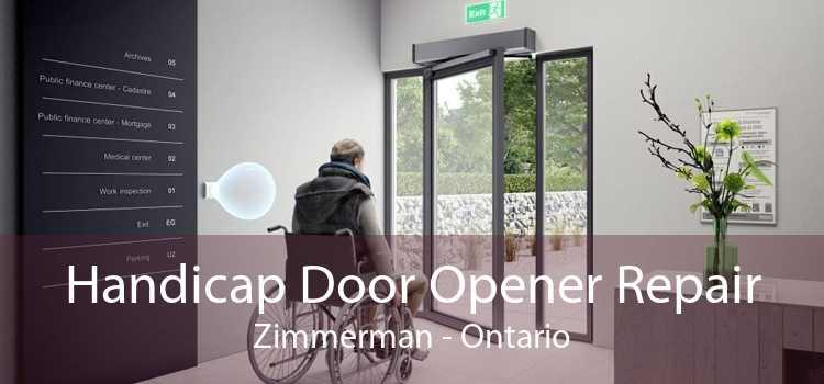 Handicap Door Opener Repair Zimmerman - Ontario