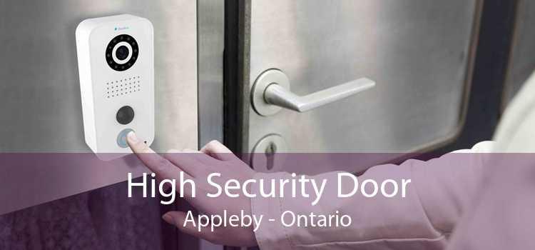 High Security Door Appleby - Ontario