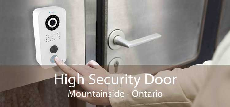 High Security Door Mountainside - Ontario