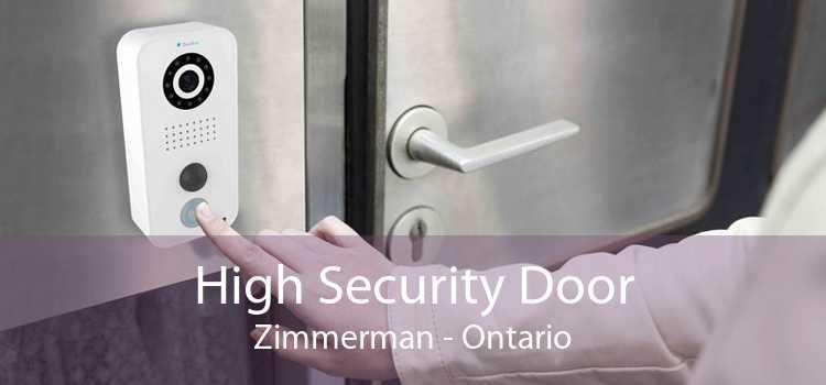High Security Door Zimmerman - Ontario