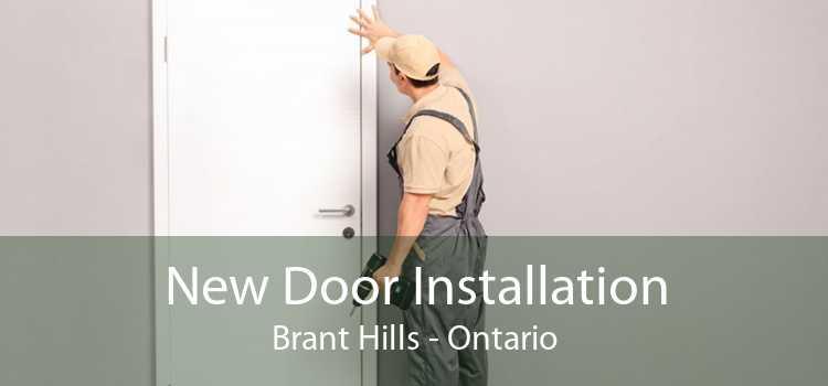 New Door Installation Brant Hills - Ontario