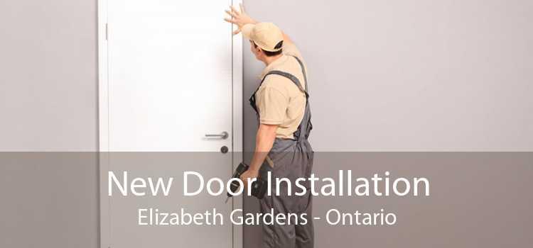 New Door Installation Elizabeth Gardens - Ontario