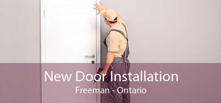 New Door Installation Freeman - Ontario