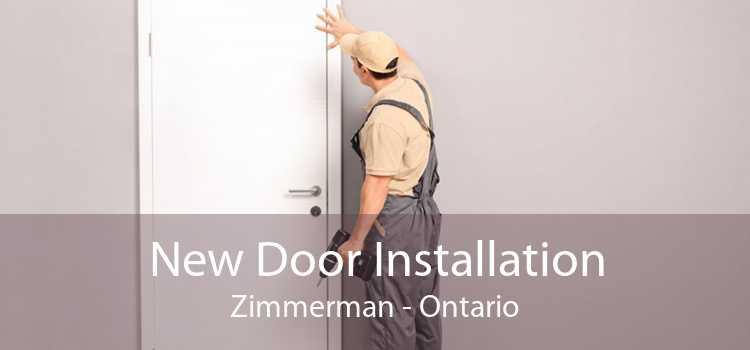 New Door Installation Zimmerman - Ontario