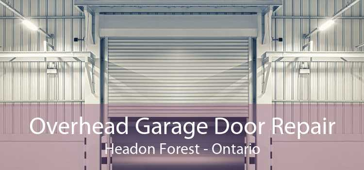 Overhead Garage Door Repair Headon Forest - Ontario