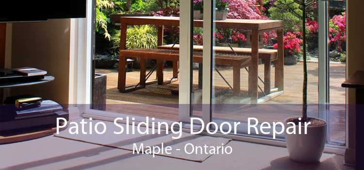 Patio Sliding Door Repair Maple - Ontario