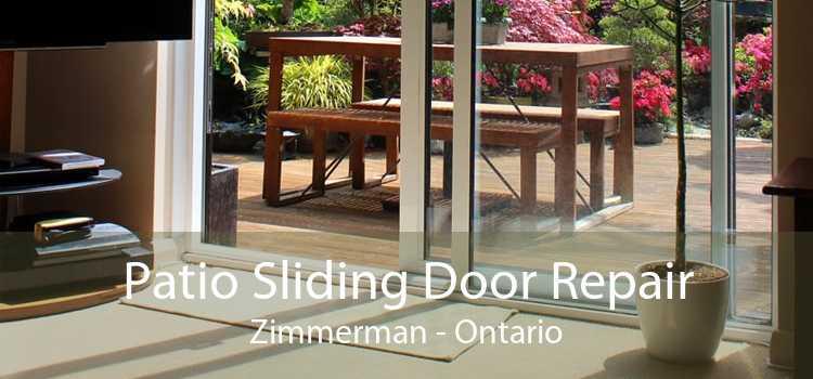 Patio Sliding Door Repair Zimmerman - Ontario
