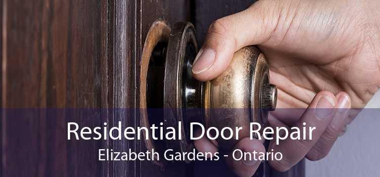 Residential Door Repair Elizabeth Gardens - Ontario