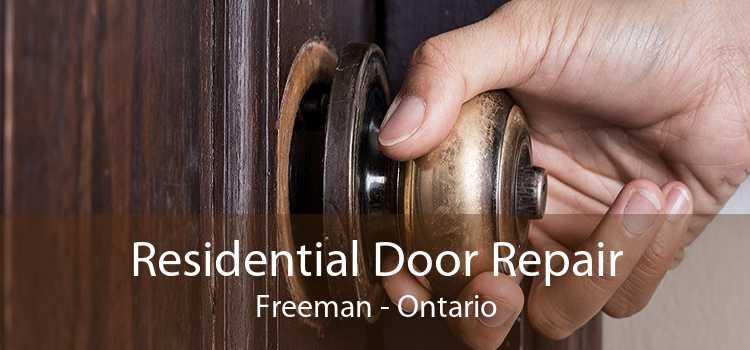 Residential Door Repair Freeman - Ontario