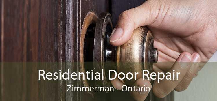 Residential Door Repair Zimmerman - Ontario