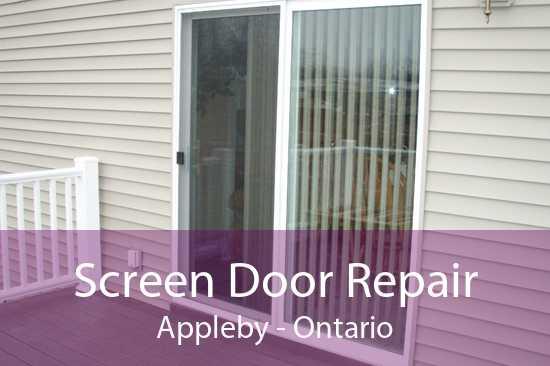 Screen Door Repair Appleby - Ontario