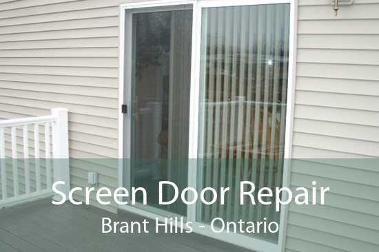 Screen Door Repair Brant Hills - Ontario