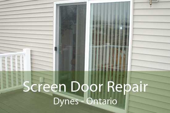 Screen Door Repair Dynes - Ontario