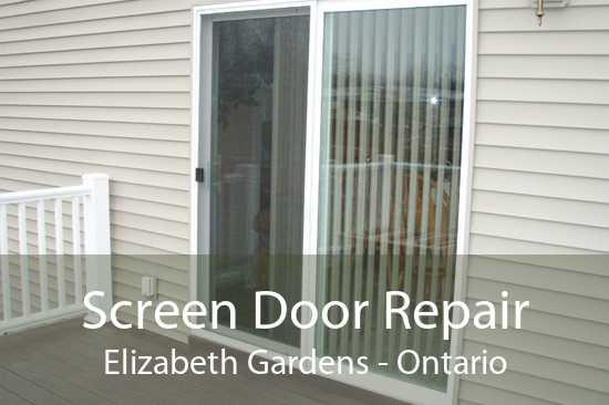 Screen Door Repair Elizabeth Gardens - Ontario