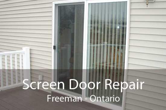 Screen Door Repair Freeman - Ontario