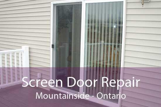 Screen Door Repair Mountainside - Ontario