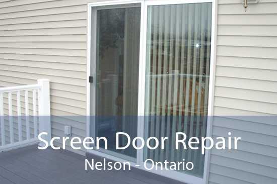 Screen Door Repair Nelson - Ontario