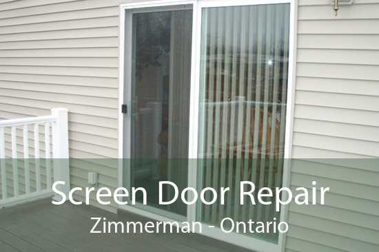 Screen Door Repair Zimmerman - Ontario