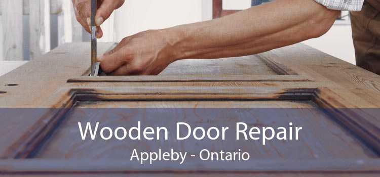 Wooden Door Repair Appleby - Ontario