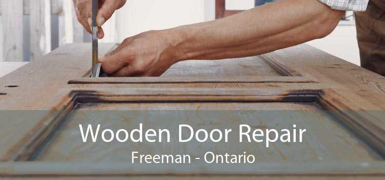 Wooden Door Repair Freeman - Ontario